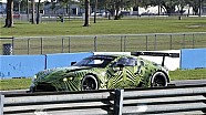 Spy video pengetesan Aston Martin Vantage GTE di Sebring