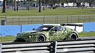 Spy video pengetesan Aston Martin Vantage GTE Di Sebring