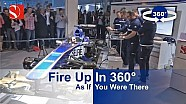 Fire Up In 360° - Sauber F1 Team @ Auto Zürich Car Show