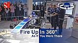 Fire Up In 360° - Sauber F1 Team @ Auto Zürich