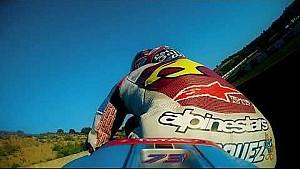 Prueba del equipo EG00 Marc VDS Jerez Moto2 con Alex Márquez y Joan Mir