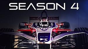 La vettura 2017-2018 della DS Virgin Racing
