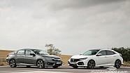 Honda Civic 2017: probamos las versiones 5 puertas y sedán