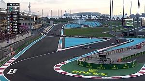 2017 Abu Dhabi Gp - Start ve tekrarı