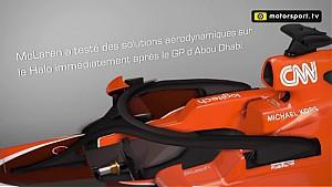 Technique - Les ailettes sur le Halo McLaren