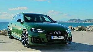 Нова Audi RS4 Avant в кольорі Sonoma Green