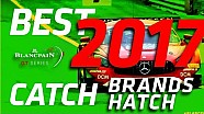 Catch #3 - Epic save - Brand hatch! Mercedes AMG-GT3