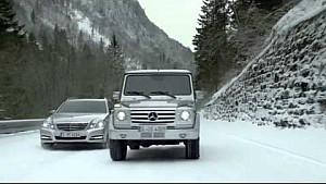 Недільний водій - комерційне відео Mercedes-Benz за участю Міхаеля Шумахера та Міки Хаккінена
