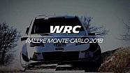 Ott Tänak en essais pour le Rallye Monte-Carlo