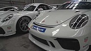The brand new Porsche 911 GT3 Cup car has arrived.