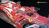 Video animasi efek benturan roda terhadap Halo di mobil F1