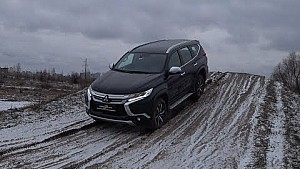 Mitsubishi Pajero Sport 2018: жодних перешкод!