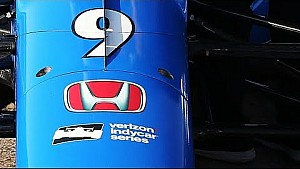 2018 Chip Ganassi racing y Scott Dixon muestran la decoración