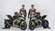 Presentazione Team Kawasaki WSBK 2018