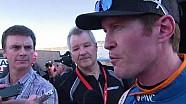 IndyCar windscreen test at ISM raceway