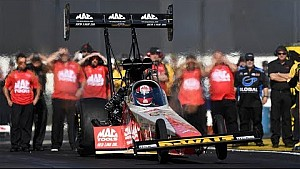 Doug Kalitta takes home the wally in Pomona