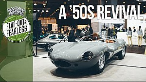This is Jaguar's brand new D-type