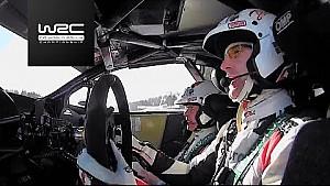 Jari-Matti Latvala ahead of Rally Sweden