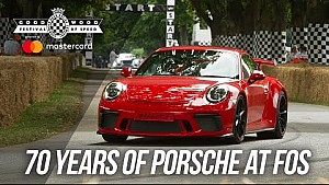 FOS central feature to celebrate 70 years of Porsche