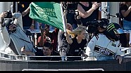 Watch Charlize Theron wave the green flag at Daytona