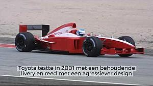 Motorsport Stories - De opvallendste testkleuren in de F1
