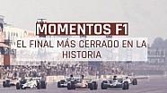 El final más cerrado en F1 LAT