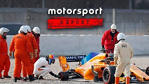 Motorsport-Report #92: F1-Test Barcelona, Tag 1