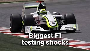 Motorsport Stories: Biggest testing shocks