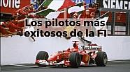 Racing Stories: los pilotos más exitosos de la Fórmula 1