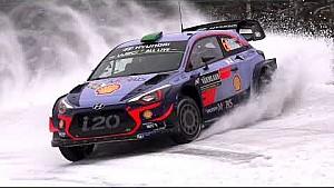 Le clip du Rallye de Suède victorieux de Hyundai