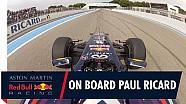 Caméra embarquée avec David Coulthard au Paul Ricard