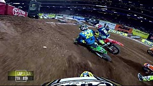 Kyle Peters main event #3 2018 Monster Energy Supercross from Atlanta