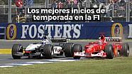 Racing stories: los mejores inicios de temporada en F1 Lat