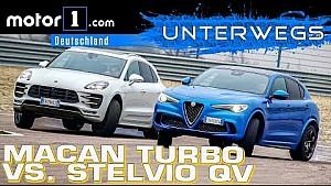 Stelvio QV vs. Porsche Macan Turbo PP