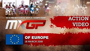 Accidente de Tim Gajser - MXGP de Europa 2018