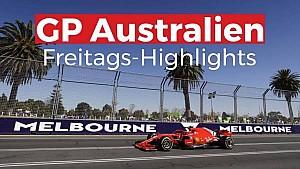 GP Australien: Freitags-Highlights
