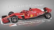 Ferrari's 2018-bolide onder de loep genomen