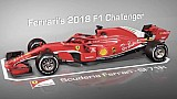 Formel-1-Ferrari 2018 und 2017 im Vergleich