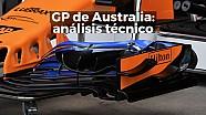 Gran Premio de Australia: análisis técnico
