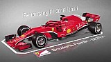 Ferrari F1 2018 vs 2017