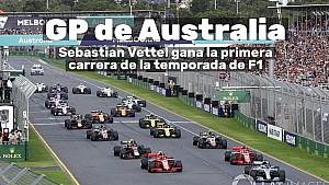 Motorsport Shorts: victoria de Sebastian Vettel, del equipo Ferrari,  en el GP de Australia Latw