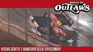 World of Outlaws Craftsman sprint cars Bakersfield speedway March 24, 2018 | highlights