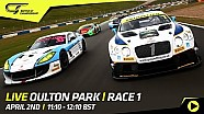 British GT 2018 - Oulton park - race 1
