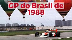 VÍDEO: GP do Brasil de 1988