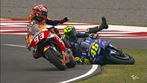Marquez vs Rossi: Semua kamera | MotoGP Argentina