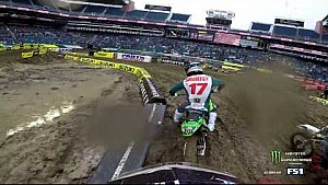 Shane Mcelrath qualifying practice 2018 Monster Energy Supercross from Seattle