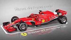 Deshalb qualmt der Ferrari