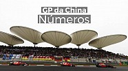 Números do GP da China