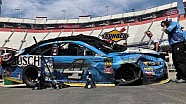 Harvick wrecks during practice at Bristol