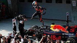Selebrasi Podium Daniel Ricciardo | GP Tiongkok 2018